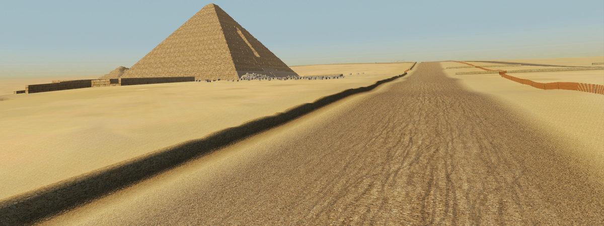Desert Pyramides